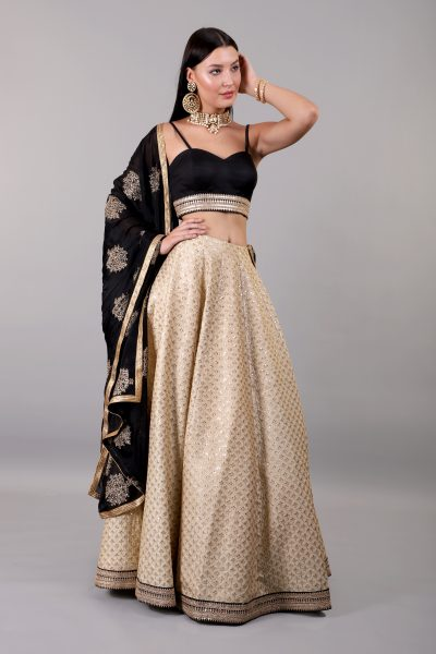 black-and-gold-lehenga