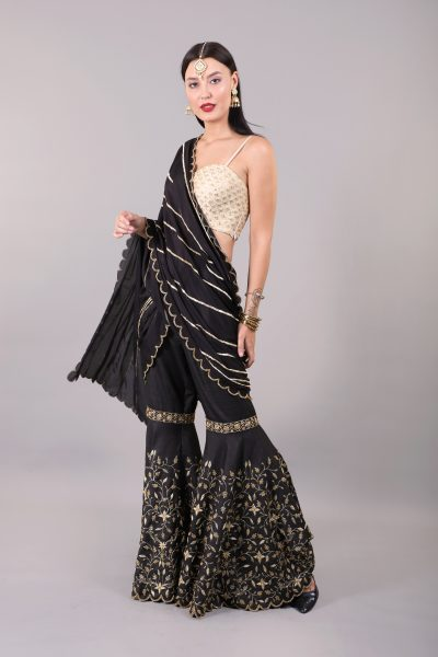 sharara-saree