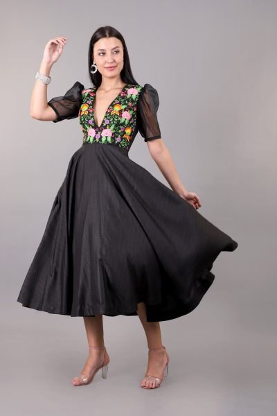 designer-black-dress