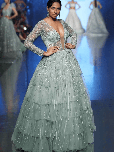 aqua-blue-frilled-layer-embroidered-net-gown-with-sheer-net-deep-v-bodice-only-on-kalki-485833_5__2