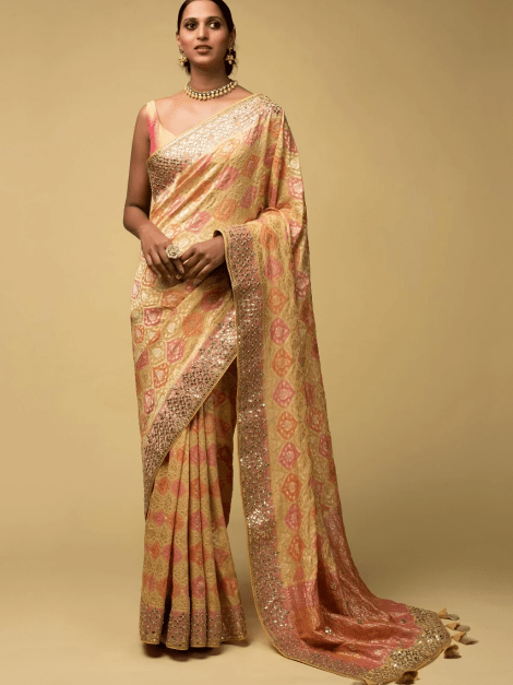 banana-yellow-banarasi-saree-in-georgette-with-pink-and-peach-design-and-weaved-moroccan-jaal-online-kalki-fashion-j01913061y-sg27145_2_