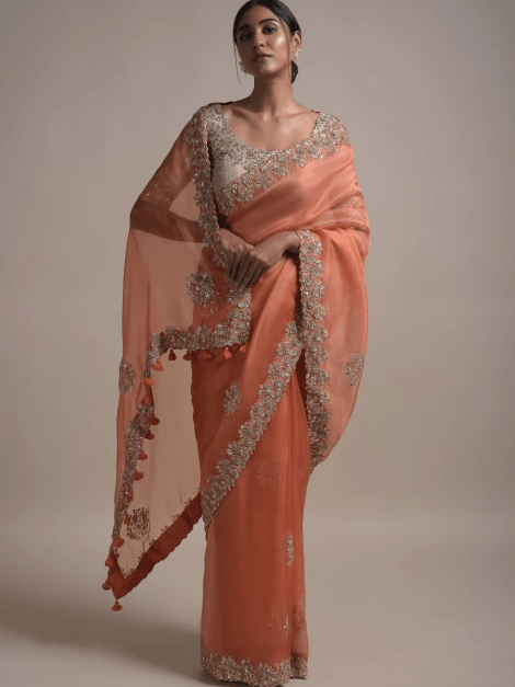 burnt-orange-saree-in-organza-silk-with-sequins-and-zardozi-embroidery-in-floral-pattern-online-kalki-fashion-k025amnmbsy-sg30855_4_