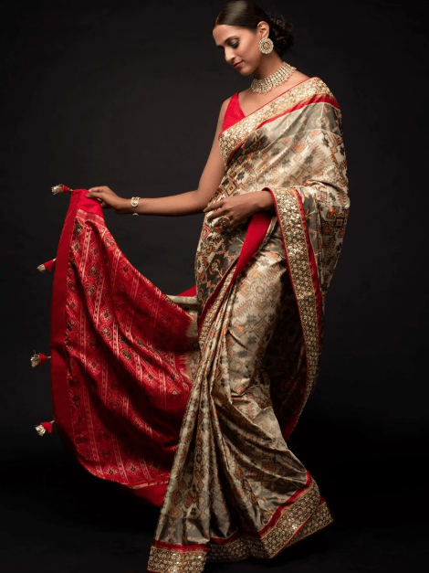 sand-beige-saree-in-silk-with-ikkat-weaved-patola-pattern-and-embroidery-work-online-kalki-fashion-j019245477y-sg27134_4_